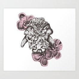 Flowers of Death Art Print