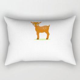 Deer 3 Rectangular Pillow