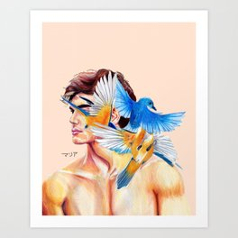 Ethan Dolan Birds Art Print