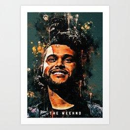 The Weekndd Canvas Art Print