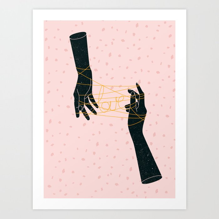Descubre el motivo HANDS IN LOVE de Robert Farkas como póster en TOPPOSTER