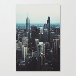 'All the way up!' Canvas Print