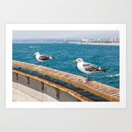 Venice Beach VI Art Print