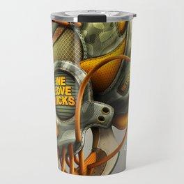 We Love Kicks Travel Mug