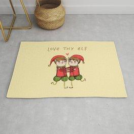 Love Thy Elf Rug