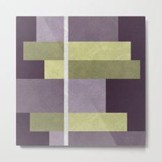 Geometric Marble 05 Metal Print