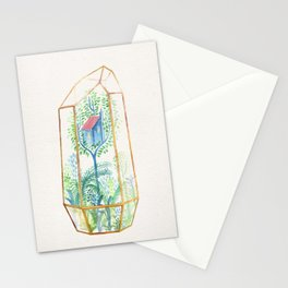 Terrarium Garden III Stationery Cards