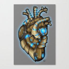Robot Heart - Arcane Canvas Print