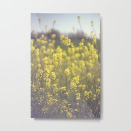 Mustard  Metal Print