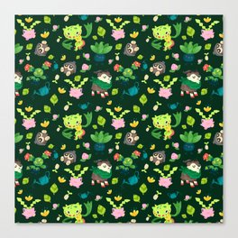 Razor Leaf Canvas Print