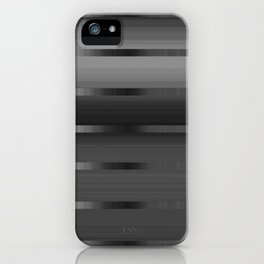Midnight Silver iPhone Case