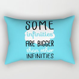 Some Infinities - The Fault In Our Stars Rectangular Pillow