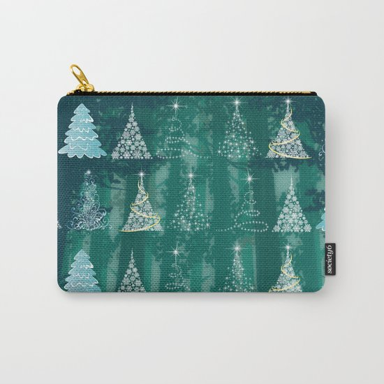 Christmas tree in the forest Carry-All Pouch