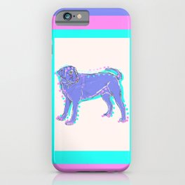 The happy LABRADOR RETRIEVER Love of My Life - your Lab dog keeps you smiling! iPhone Case