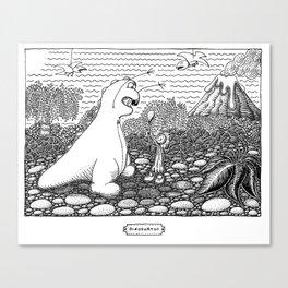 DinoSortOf Canvas Print