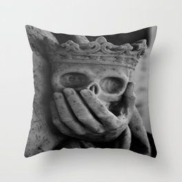 Death at Hand  Throw Pillow