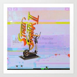ΔCIDSUNG Art Print