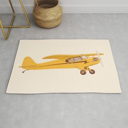 Little Yellow Plane Rug