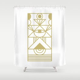 Super Sense No. 12 Shower Curtain