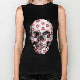 Kisses Skull Biker Tank