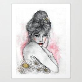 Halycon Art Print
