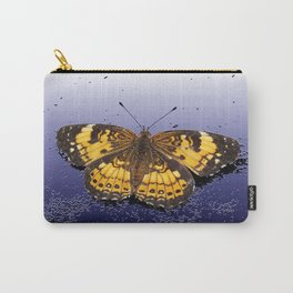 Pearl Crescent on Plaster Carry-All Pouch