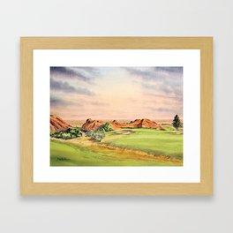 Arrowhead Golf Course Colorado Framed Art Print