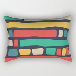 Color tape of life Rectangular Pillow