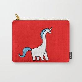 Cute Dinocorn (Unicorn Brachiosaurus) Carry-All Pouch