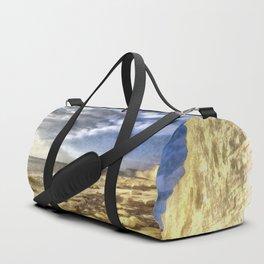 Birling Gap And Seven Sisters Art Duffle Bag