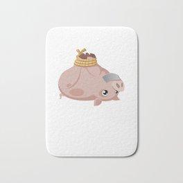 I Like Pig Butts And I Cannot Lie Bath Mat