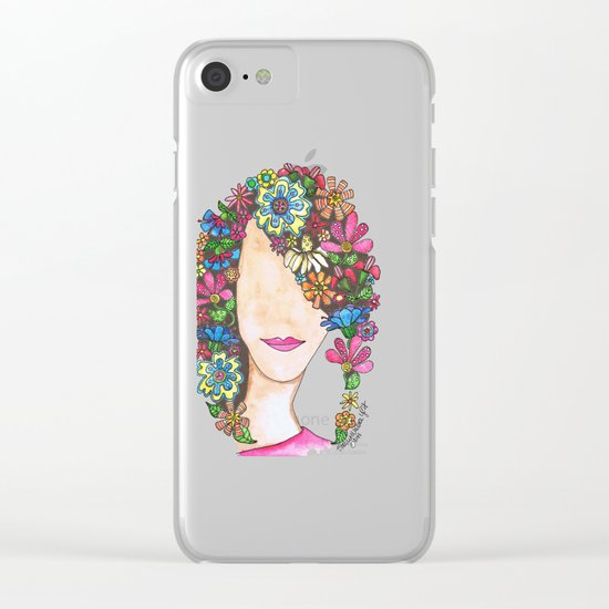 Pageboy Clear iPhone Case
