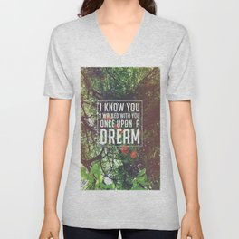 Once upon a dream Unisex V-Neck