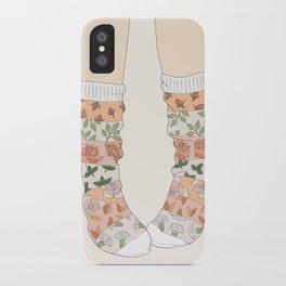 Spring Socks iPhone Case