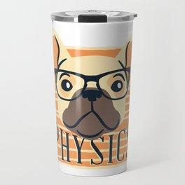 Physics American Pit Bull Terrier Puppy Dog Travel Mug