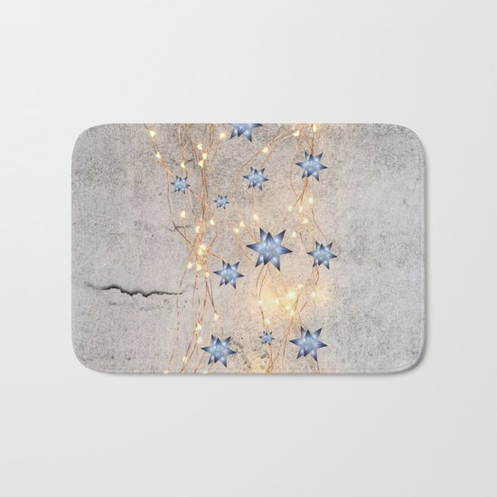 Star Wall   Christmas Spirit Bath Mat