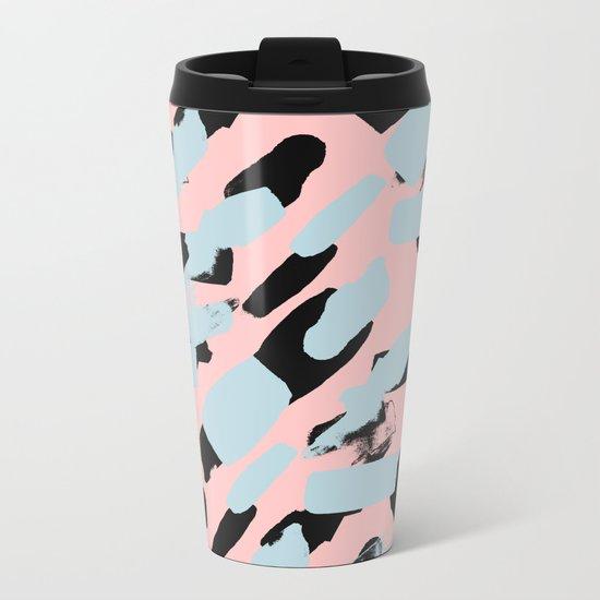 Pattern 615 Metal Travel Mug