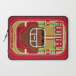 American Football Red and Gold - Enzone Puntfumbler - Hayes version Laptop Sleeve