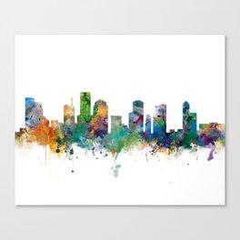 Houston Skyline Canvas Print