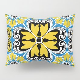 Azulejo portugues 5 Pillow Sham