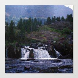 Red Rock Falls Canvas Print