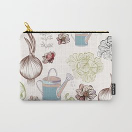 Cozy kitchen garden Carry-All Pouch