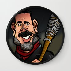 Negan and Lucille Wall Clock