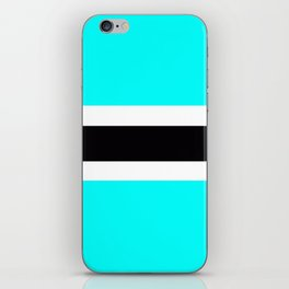 Flag of Botswana iPhone Skin