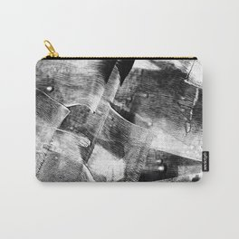 Block Print Textures Abstract Design Carry-All Pouch