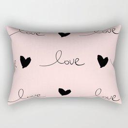 Love doodles Rectangular Pillow