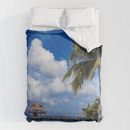 Pathway to Paradise Comforters