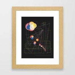Out of the Tiles Framed Art Print