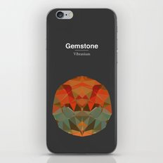 Gemstone - Vibranium iPhone & iPod Skin