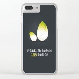 Endive au jambon sans jambon Clear iPhone Case